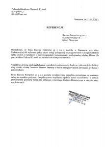 Referencje Piekarnia Osiedlowa Sławomir Krzosek